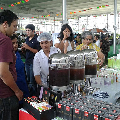 Typhoo again won the hearts of the Puneites with its explosive mix of the enticing fresh fruits and exotic herbs of Fruit Infusion Range at Pune Farmer's Market