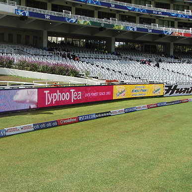 Typhoo goes to South Africa as a sponsor for Kings XI Punjab - IPL 2009
