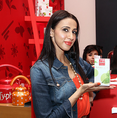There's always time for tea for supermodel and VJ Alesia Raut, she fell in love with all the Typhoo Green Tea Flavours