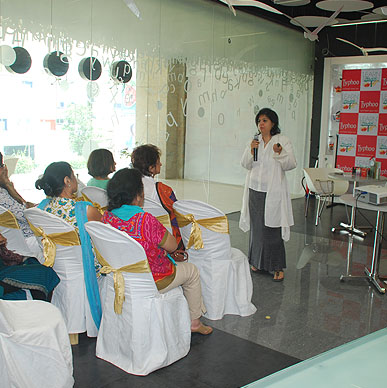 Typhoo loves obsesity consultant Naini Setalvad for reinforcing the Power of T  - Cha Bar, Bangalore